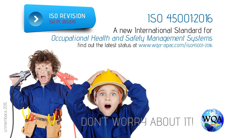 Training ISO 45001:2016