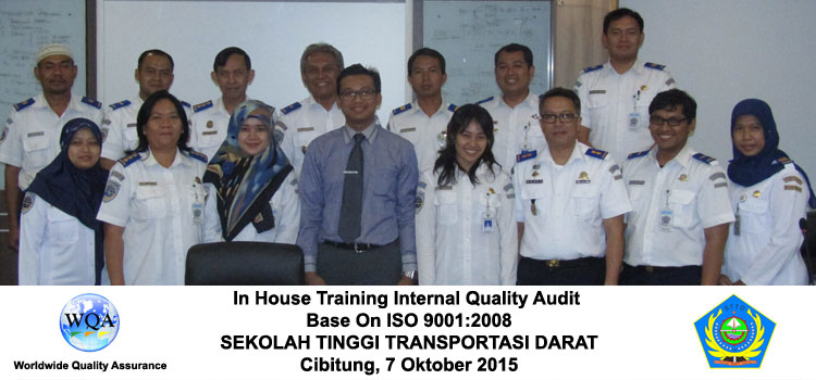 in house internal quality audit iso 9001 2008 STTD Cibitung
