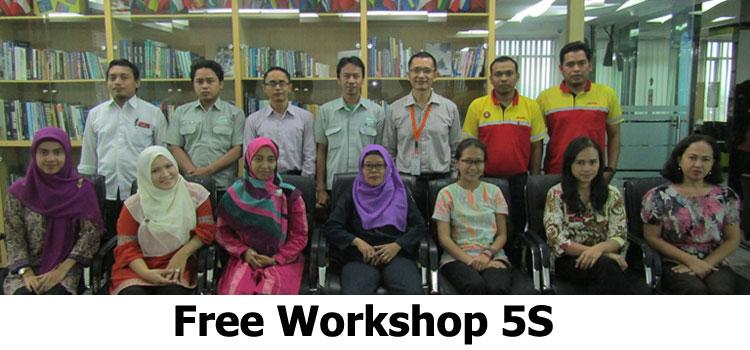 free workshop 5s