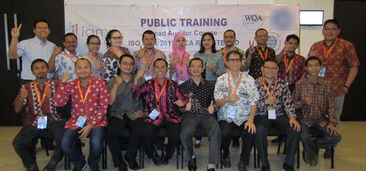 Training Lead Auditor Course ISO 9001:2015