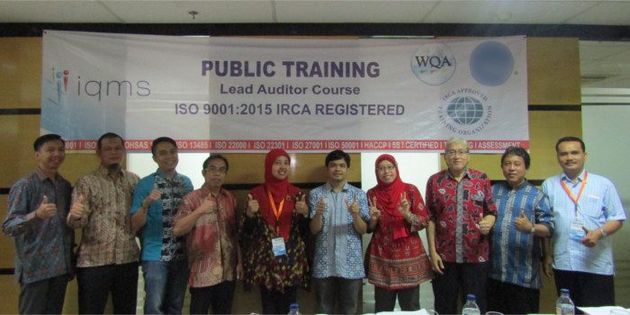 Lead Auditor Course ISO 9001:2015 IRCA Registered