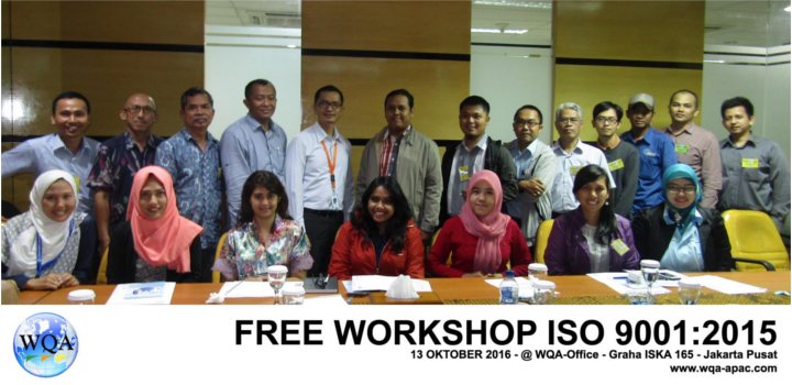 Free Workshop Awareness Upgrading ISO 9001:2015
