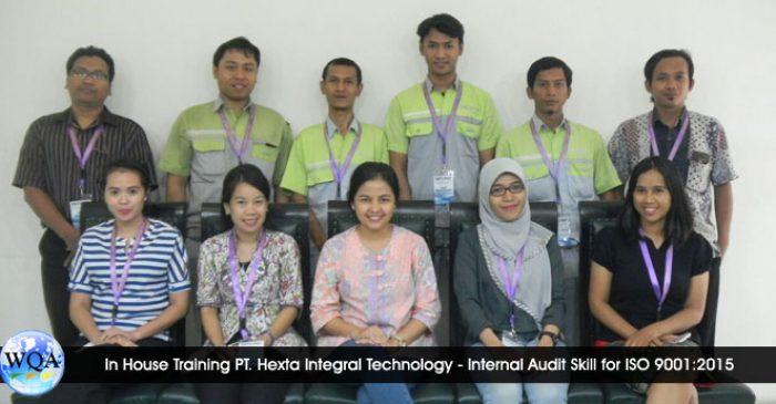 In House Training PT. Hexta Integral Technology