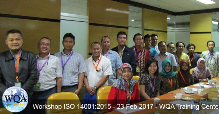 Workshop ISO 14001:2015 – 23 Februari 2017