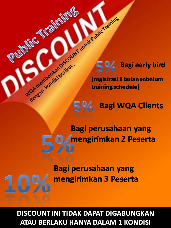 DISCOUNT Public Training