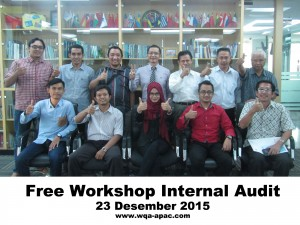 Free Workshop Internal Audit