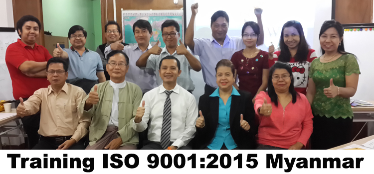 Training ISO 9001 2015 Myanmar
