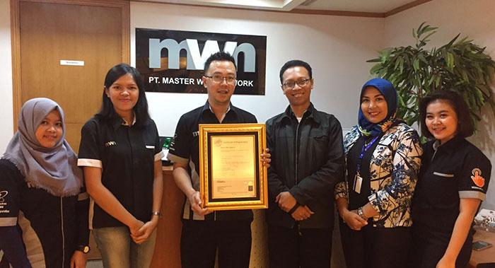MWN Berhasil Mendapatkan Sertifikat ISO 9001:2015